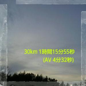 11月の30km走
