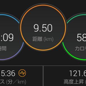 早朝マラソンやりました〜(。•̀ᴗ-)