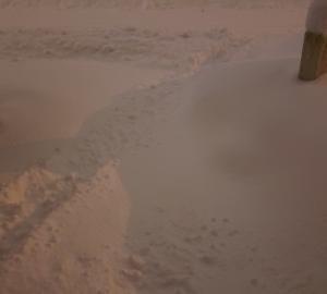 除雪は、いい筋トレだけど