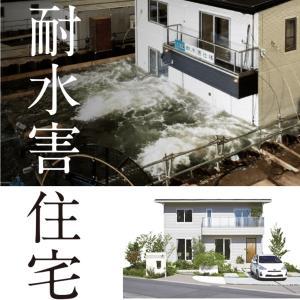 【耐水害住宅】一条工務店が魅せた。浮かぶ家。