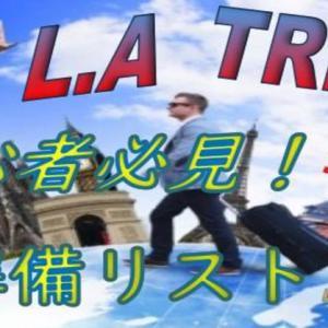 【アメリカ旅行】初心者必見!LA渡米前に準備しておきたいリスト10【保存版】