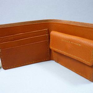二つ折り財布 6作 オンパレード