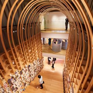 隈研吾さん設計の村上春樹ライブラリー、来月早稲田大学にオープン