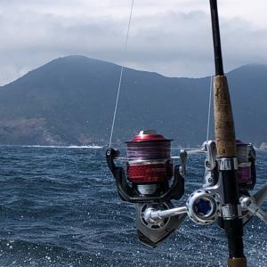 近海・英光は時化止   時化に強い幸漁丸へ