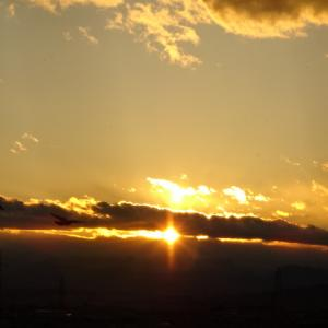 朝日も良いけど夕日も綺麗