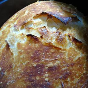 ストウブ鍋で簡単パン焼いてみました~