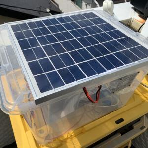 10000円で作れる! 持ち運びも可能な簡易ソーラー発電ボックス!