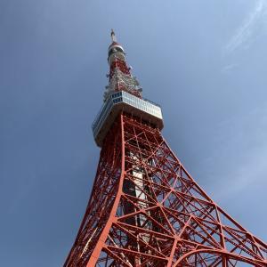 コロナ対策中の今だけ!? 東京タワーを階段で登ってみた!