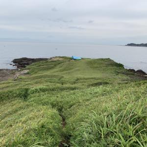 まるでプライベートビーチ! 三浦市・黒崎の鼻でソロキャンプしてきた!