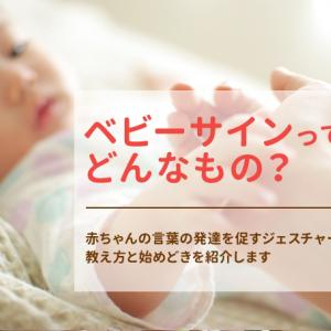 ベビーサインとは?赤ちゃんの言葉の発達を促すジェスチャー、教え方と始めどきを紹介します