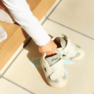 靴置きマークを手作りしたら1歳児にも効果バッチリ!玄関を片付けたければすぐに作るべし