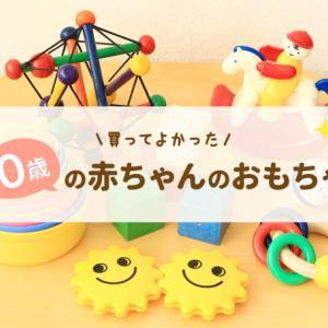 【厳選】買ってよかったおもちゃ0歳編!赤ちゃんが本当に喜んだものはコレ