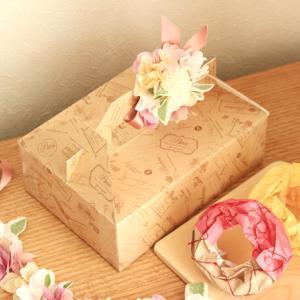 ケーキの箱の作り方★展開図不要・牛乳パックだけでサクサクできる!