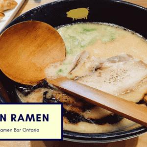 【トロント生活】日本食が恋しくなったら「KINTON RAMEN」へ。