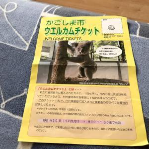 全施設無料で利用できる「かごしま市ウェルカムチケット」を貰いました。