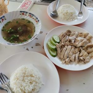 【俺飯】カオマンガイを食べる。そしてセブンイレブンで1BUY1購入