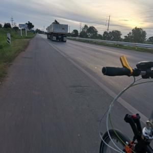 DAHON Routeで朝チャリ、平均時速27.72km/h&適当に俺飯