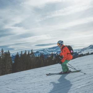【小4】スキーの季節