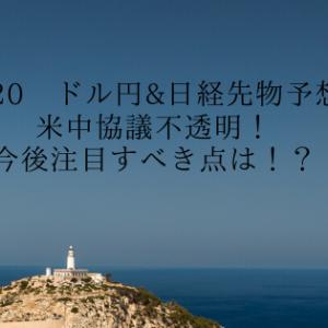 11/20 ドル円&日経先物予想 米中協議不透明!今後注目すべき点は!?