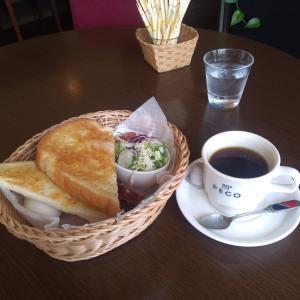 【生活】落ち着く喫茶店「PECO」でモーニング。ワンコインでこれだけ付きます!