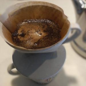 【生活】あさイチのショウガハチミツコーヒーを淹れてみた