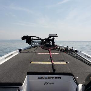 長浜ボートファクトリー山本さんとバス釣りへ♥