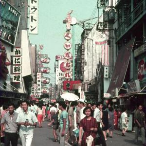 昭和40年頃の大阪ミナミ