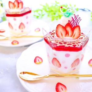 はたさなおこ先生のスライス苺の可愛いムースデザート♡Pro講師実技レッスンのレポート!