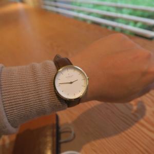 【nordgreen】大人シンプルな北欧デザイン腕時計に変えてみたら大正解!