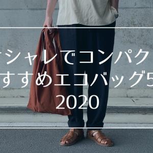 【2020】コンパクトで人気エコバッグおすすめ5選!オシャレアイテムも紹介!