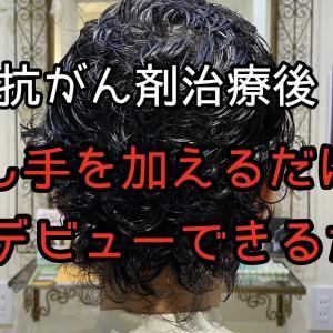 【自毛デビュー】伸び放題の髪にちょっと一手間かけるだけで自毛デビュー出来るかも! | 抗がん剤治療後の自毛の相談ができる美容師 谷田修一