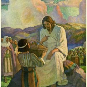 列王記 エリシャの給食