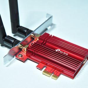 Wi-Fi6対応! 爆速無線LANカード Archer TX3000Eのレビューと取り付け方法!