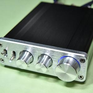 デジタル小型アンプ FX-2020A+CUSTOMの音質をレビューします!