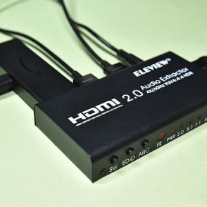 fire tv stickをHDMI音声分離器 EHD-802Nで高音質化する方法!