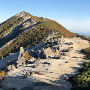 【登山】鳳凰三山④二日目の縦走と下り/南アルプス