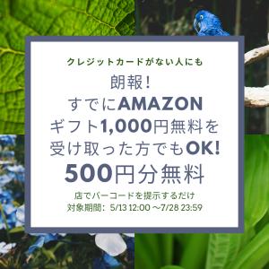 アマゾン銀行の話が本当に?入金で500円バックキャンペーン開始!