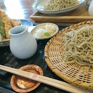 衣掛庵昌<神戸・須磨>の 天ざる蕎麦