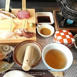 道の駅うずしおレストラン<淡路島>の 白い海鮮丼