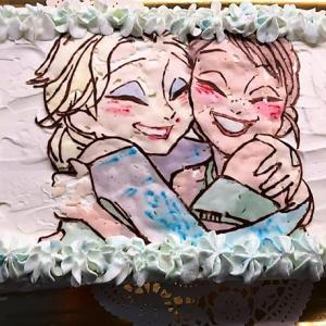お誕生日会とバースデーケーキ