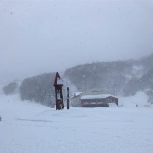 スキーバブル??