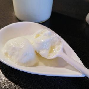 """パン作りで使う""""よつ葉スキムミルク""""で自家製ヨーグルト。選択肢を増やす。"""