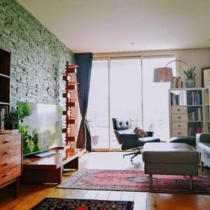 スウェーデンのヴィンテージ家具と模様替え。