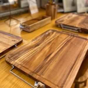DULTON Acacian tray with metal handle,cutlery case,etc...