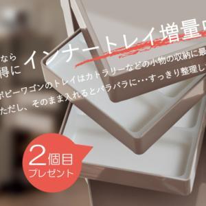 BOBY WAGON強化月間!! 今だけインナートレイ+1プレゼント!!