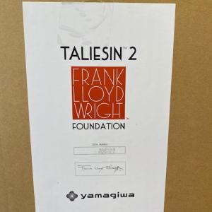 S様ご注文Frank Lloyd Wrightフロア照明 TALIESIN 2 チェリー到着しました!