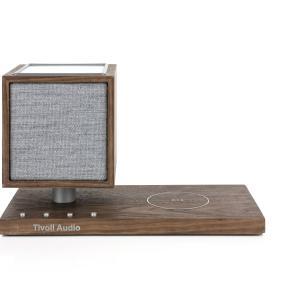 REVIVEは調光可能なLEDランプとQiワイヤレス充電機能を組み合わせた高音質Bluetoothスピーカーです。