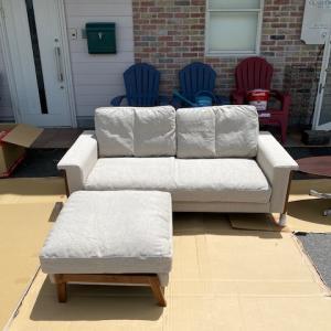 Cloud Chaise longue sofa 2.5P&TA-L Table