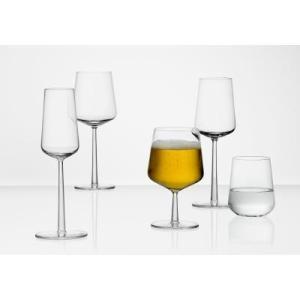 iittala Essence Wine Glass & Kastehelmi bowl
