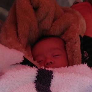 初めての赤ちゃん写真UP!!